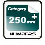 250mm+ Race Numbers